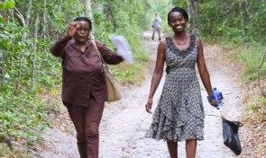 Lynn Njeri from Kenyan Wildlife Service