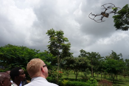 Practical demonstration on safe landings of Unmanned Aerial Vehicles
