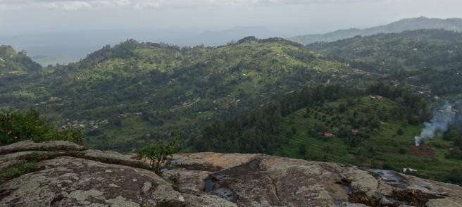 Scenic view from Wesu rock close to Ngerenyi Campus of Taita Taveta University