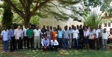 Group pictures of workshop participants